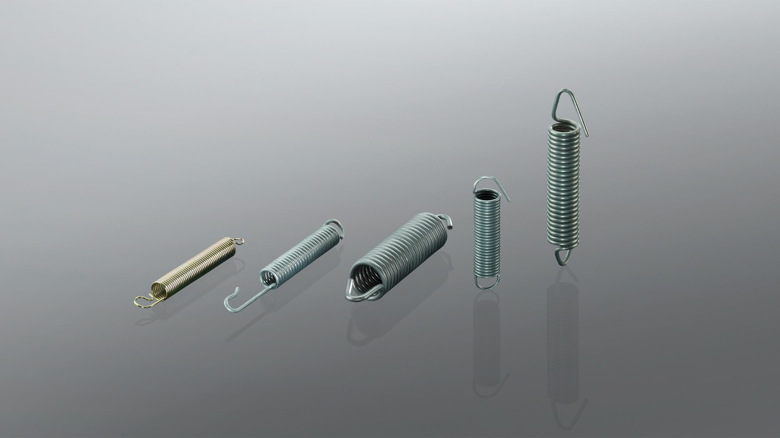 Breites Anwendungsspektrum Length : 2x13x60mm 60-200 2ST mm L/änge Stahl Zugschraubenfeder Zugfeder Mit Hooks.2mm Drahtdurchmesser 13mm Out Durchmesser Aojing LHjin-Spannh/ülsen